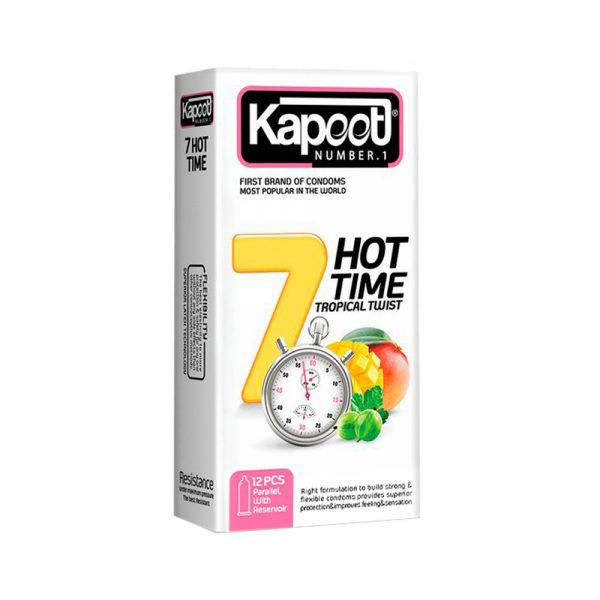 کاندوم 7 کاره گرم کاپوت