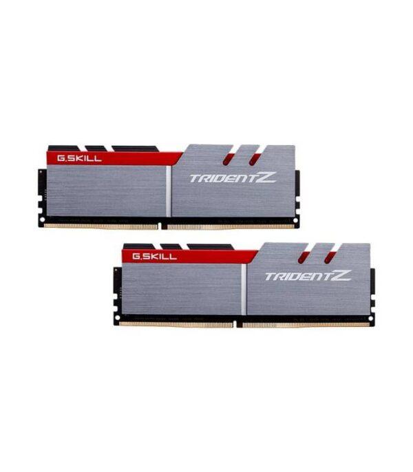 رم کامپیوتر DDR4 دو کاناله 3000 مگاهرتز CL15 جی اسکیل مدل Trident Z ظرفیت (2×8)16 گیگابایت