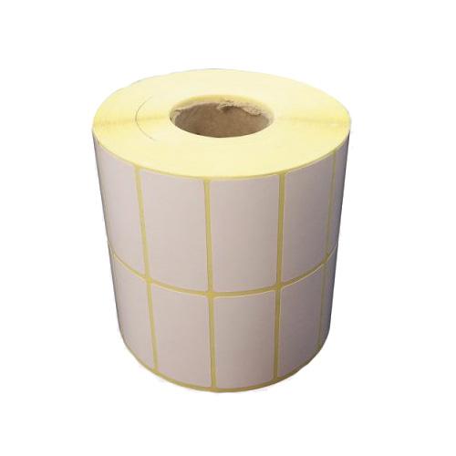 لیبل کاغذی(برچسب) 50*25 رول 4000 عددی