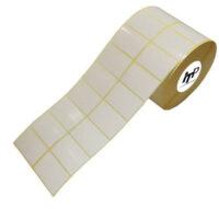 لیبل (برچسب) کاغذی 45*30 رول 4000 عددی