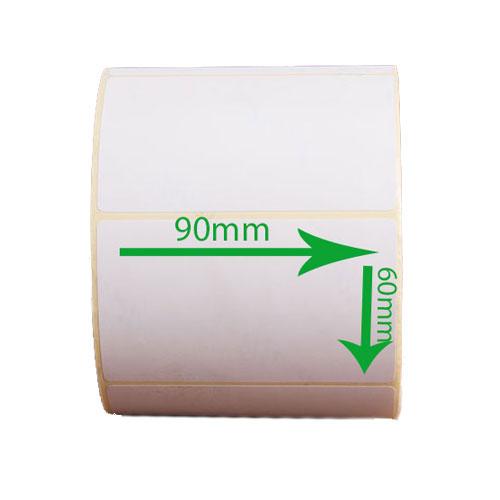 لیبل (برچسب) کاغذی 90*60 رول 1000 عددی