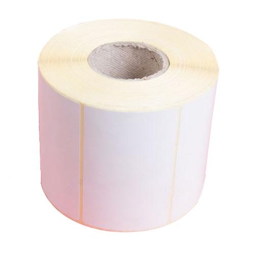 لیبل (برچسب) کاغذی 100*80 رول 500 عددی
