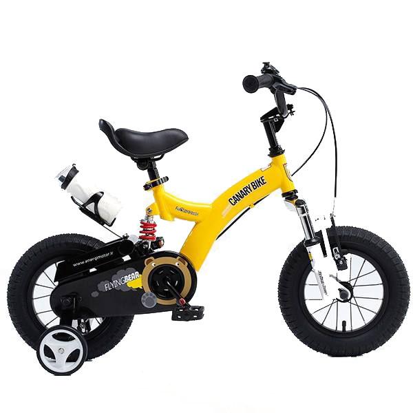 دوچرخه کودک قناری مدل FLYING BEAR سایز 12